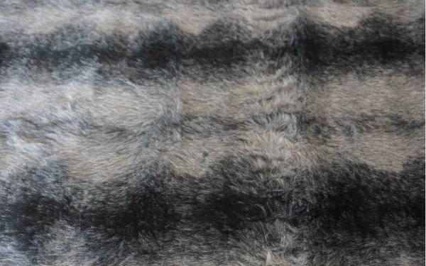 Black and Grey Fur